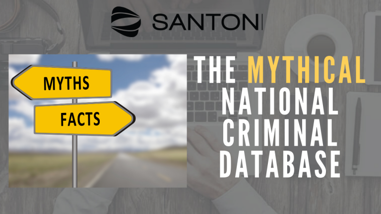 The Mythical National criminal database