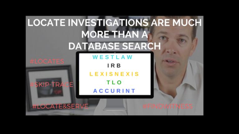 Locate Investigations