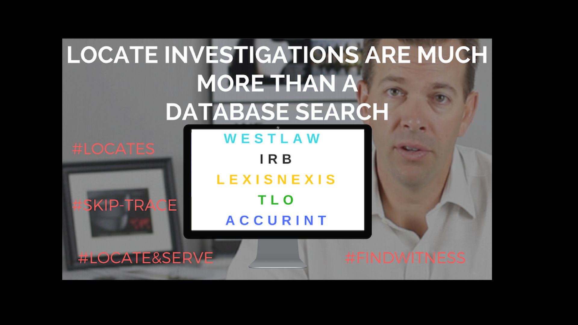 Locate Investigations are Much more Than A Database Search