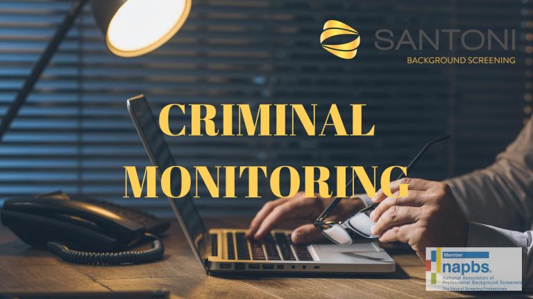Criminal Monitoring